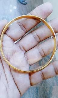 22k Men Plate Bracelet 48.5grams -S$2550