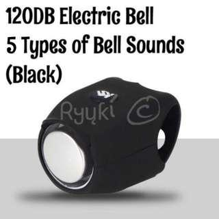 120DB Bicycle/ Scooter Electric Horn/ Bell (Black Only) - Louder than Rockbros