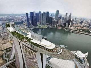 Marina Bay Sands MBS Skypark Observatory - Instant E Ticket 新加坡金沙空中花园观景点门票 电子票 特价优惠 当天可订