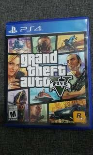 PS4 Game Grand Theft Auto (GTA 5) For Sell