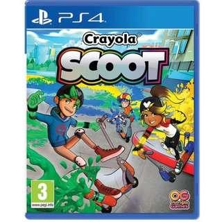 🚚 PS4 CRAYOLA SCOOT (R2 EUR)