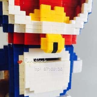DORAEMON BRICK TOY (similar to LEGO)