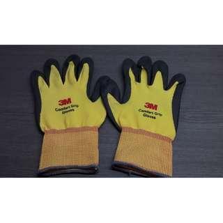 3M亮彩舒適型止滑耐磨手套