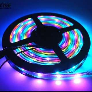 Brand New 5M LED Strips with 133 Pattern Controller with Remote Neopixel Adafruits Arduino