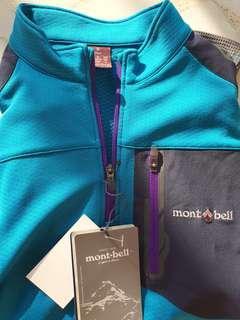 BNWT Montbell Hiking Lightweight Long Sleeve Drifit Shirt