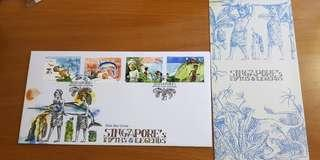 Singapore's myths &legends first day cover