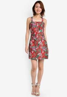 Zalora Premium Pinnafore Dress