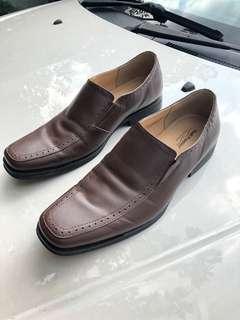 Original Hush Puppies kasut kulit lelaki office kasut kahwin formal shoes