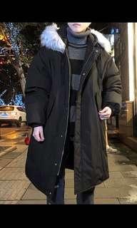 Men's Black Winter Jacket