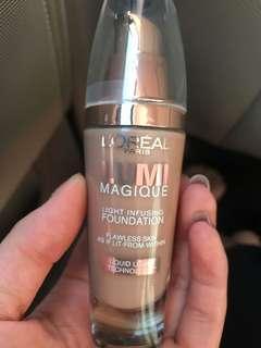 L'Oréal l'oreal loreal lumi magique foundation shade: pure linen