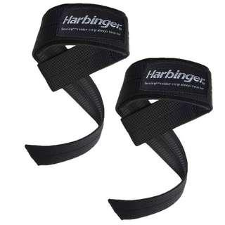 🚚 Big Grip Padded Lifting Straps (1 pair) - Harbinger