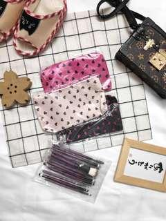 Polka Love Make up Bags