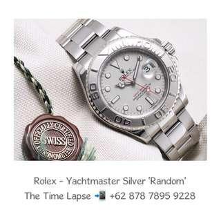 Rolex - Yachtmaster Silver 'Random'