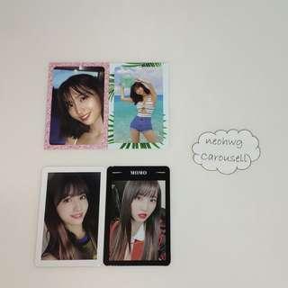 [WTS] TWICE Momo Photocards