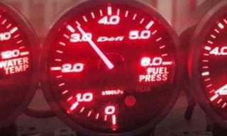 Defi Amber fuel pressure
