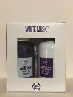 The Body Shop White Musk Shower Gel and Body Lotion