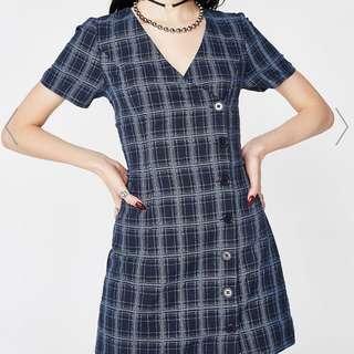 DOLLSKILL PLAID DRESS