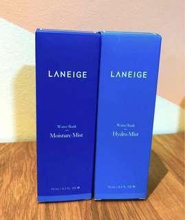 Laneige Water Bank Mist Duo (2 x 70-ml)