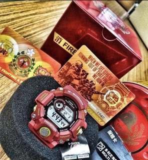 消防150周年 G-shock 限量手錶