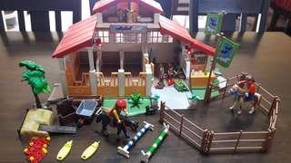 Children toys - Playmobil 4190 Pony Ranch Horse Farm