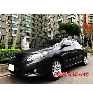 【 保証實車實價 】保養場師父的車 里程保証 09年 ALTIS 阿提斯 1.8 黑內裝