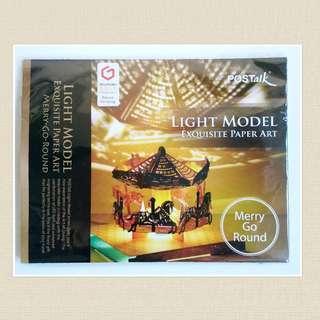 Light Model Exquisite Paper Art