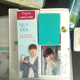 Wanna One Minhyun Pleasia toothpaste with sticker pc