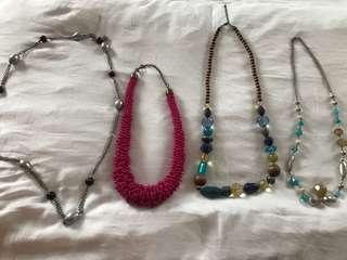 4 Mixed Necklace