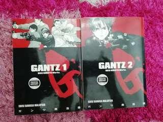 Gantz vol1&2