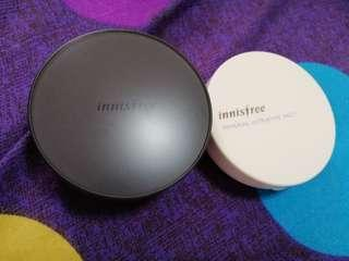 Innisfree to go cushion and ultrafine mineral powder