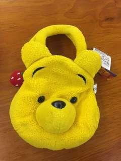 《公益換物》出賣維尼-絨毛娃娃提袋