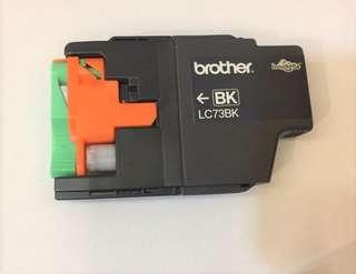 🚚 Brother LC73BK 原廠黑色墨水匣