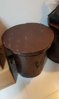 Clearence Solid wood side table. X 2 @ 1 price.