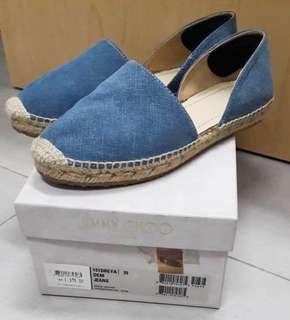 AUTHENTIC JIMMY CHOO Espadrilles Shoes size 35