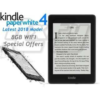 LATEST Kindle Paperwhite 4 2018 tablet ereader ebook amazon ipad