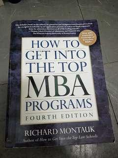 How to get into the top MBA program