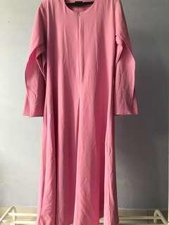Jazaana Pink Jubah #XMAS50