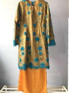 Baju Kurung Moden Lace S #XMAS50