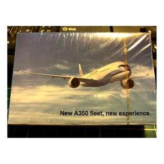 華航 A350 撲克牌 長榮虎航可參考