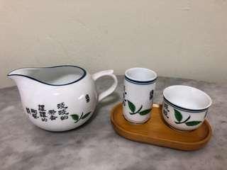 Taiwan Porcelain Tea Set