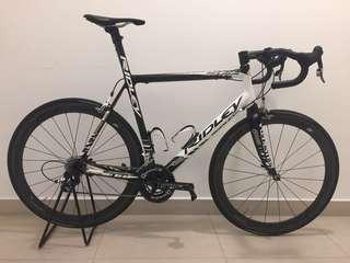 Ridley Helium full carbon race bike