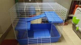 Cage for rabbit and guinea pig for sale