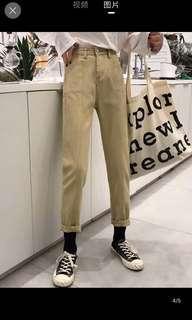 🚚 顯瘦牛仔學生褲 牛仔褲 S