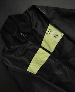 Vintage Asics Black Jacket