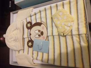 🚚 麗嬰房 禮盒 新生兒 米奇寶寶套裝