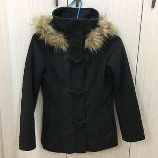 H&M羊毛外套