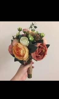 Wedding Flower Plastic Bouquet