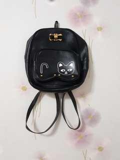 Black Mini Bagpack