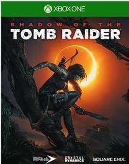 SHADOW OF TOMB RAIDER XBOX
