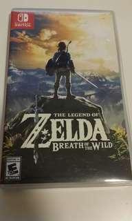 Zelda the legend of breath of the wind Nintendo switch